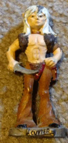 Cutter the elf, Dungeons and Dragons, Fantasy, Action figures, Role playing models, TSR