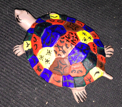Tortoise, Turtle, Acrylic Paint, Hand Painted
