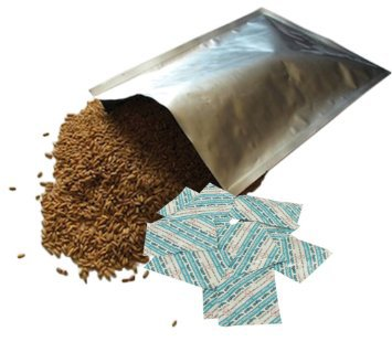 Food Grade Mylar Bags and Oxygen Absorbers