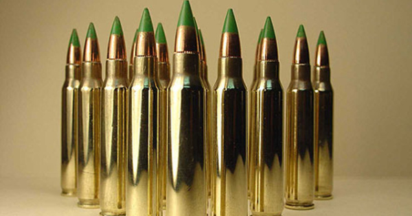 Green Tip Ammo
