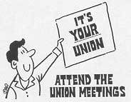 Union Meeting Dates
