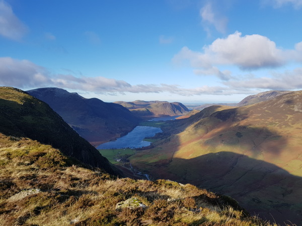 View over Buttermere
