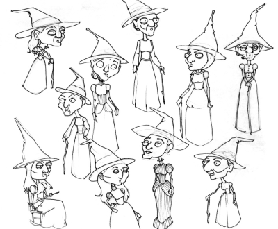 AND MORE WITCHES