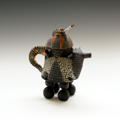 Teapot with Wood Beak
