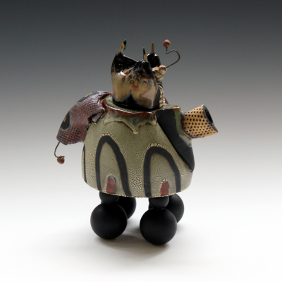 Teapot with Three Horns