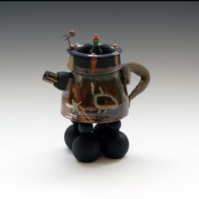 Teapot with One horn