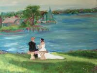 river custom wedding