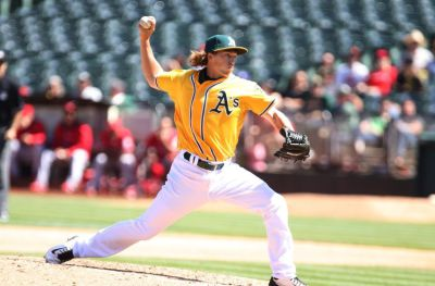 Ryan Dull/Oakland A's