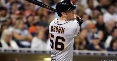 Trevor Brown's First MLB Home Run