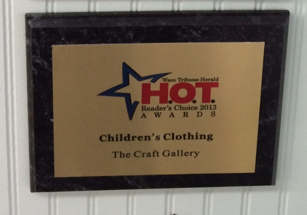 #1 Children's Clothing Store by Waco Tribune Herald
