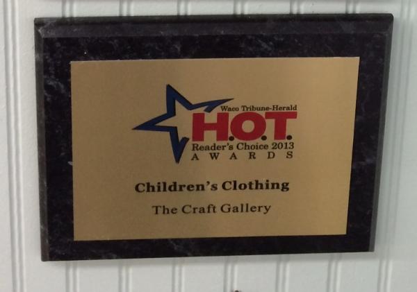 #1 Children's Clothing Store by Waco Tribune Herald