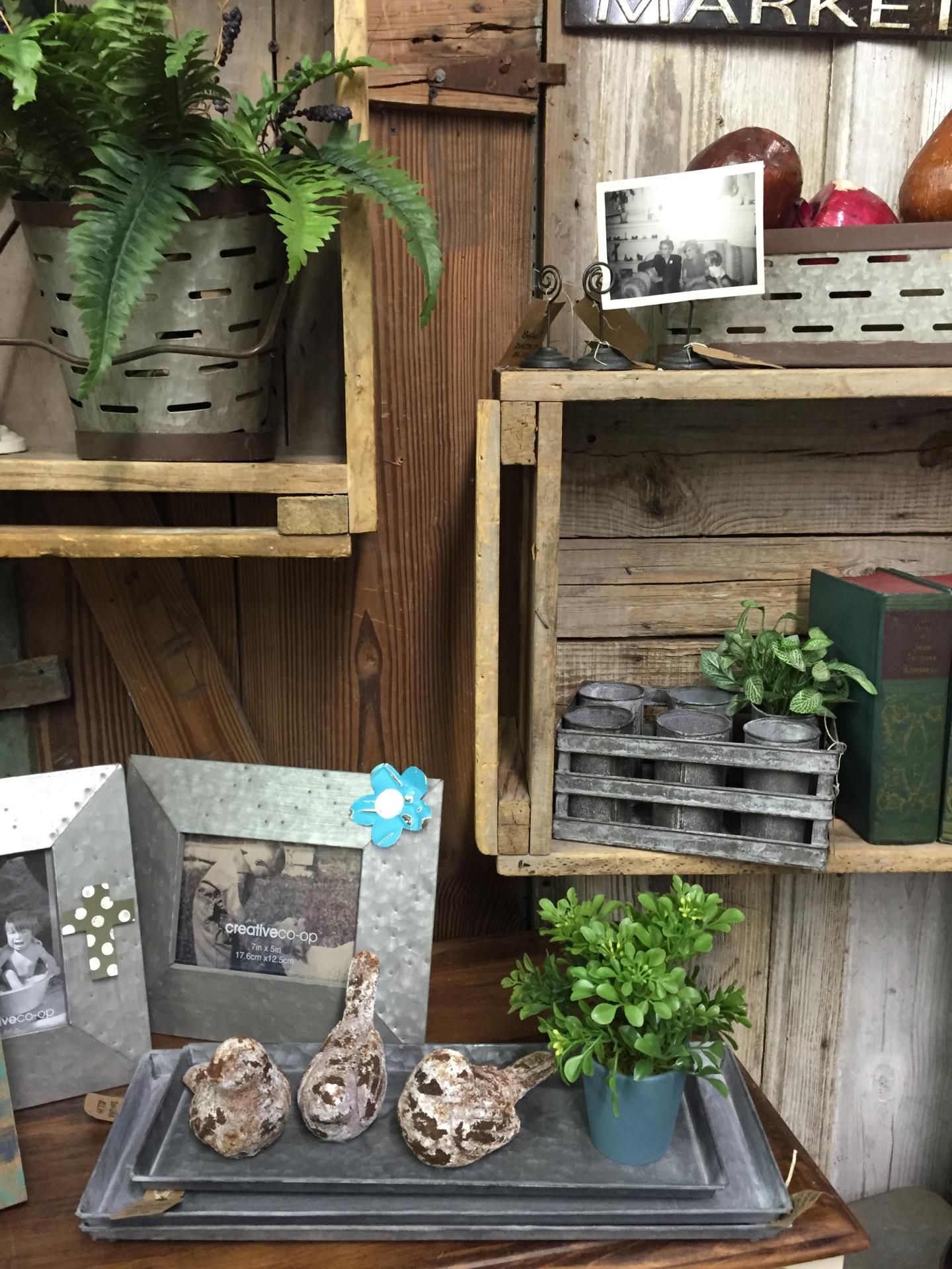 Metal frames, book ends, metal baskets, yard decor, seasonal decorations
