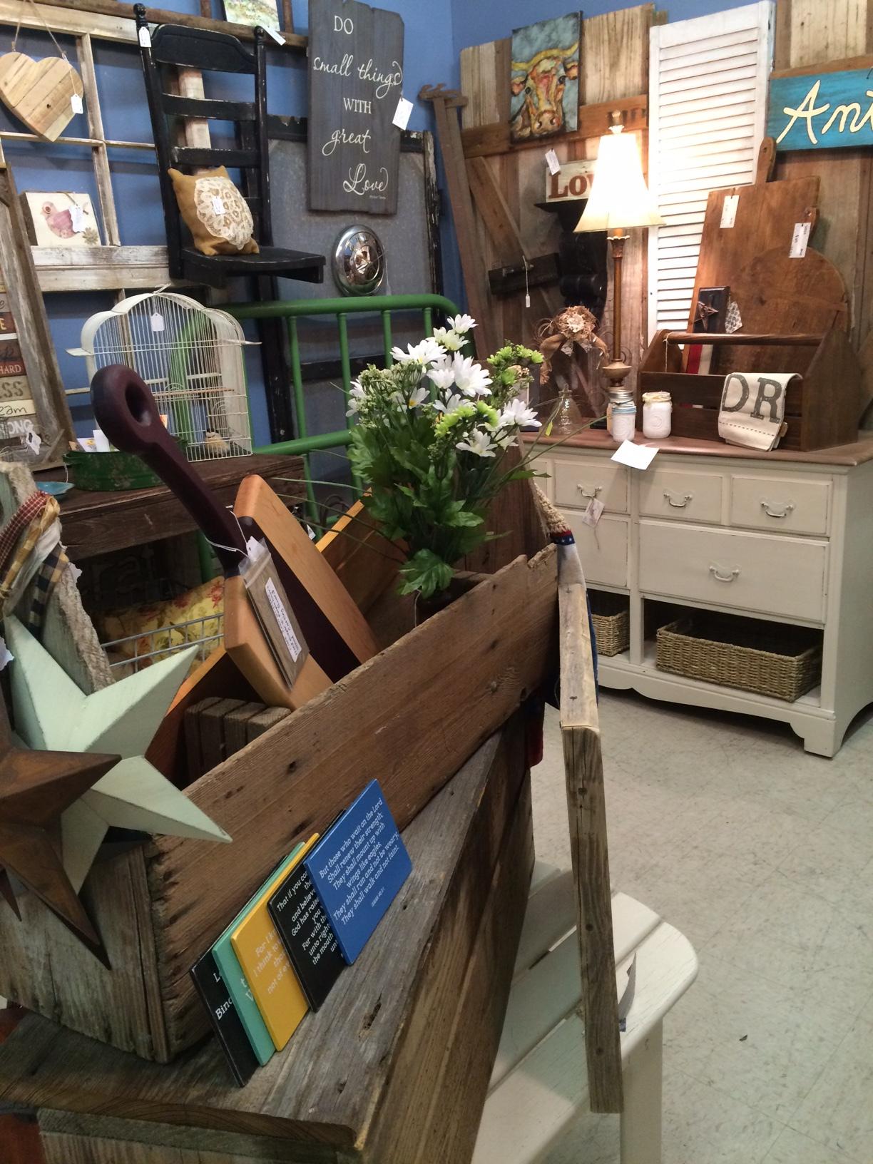 Antique toolbox