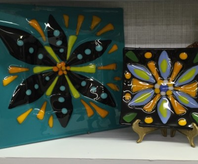 Fused and stained glass make great one of a kind gifts. They will remember you with this gift.