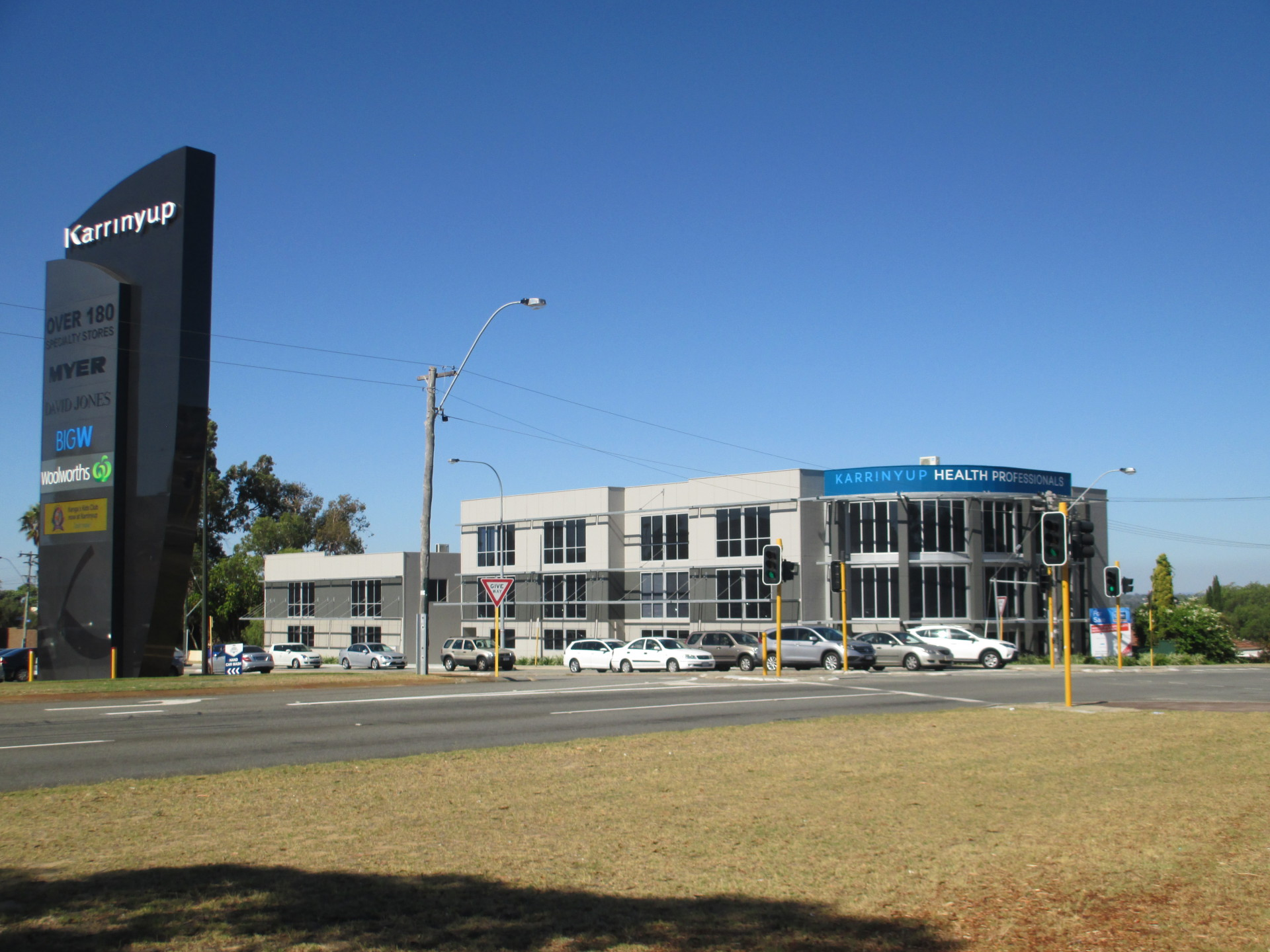 Karrinyup Clinical Psychology Service Building in the Perth northern suburbs