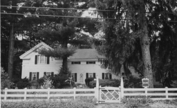Wilbur Cahoon House c1825