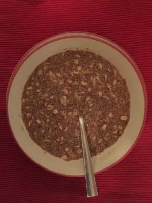 Rolled oats with flaxseed & chai seed