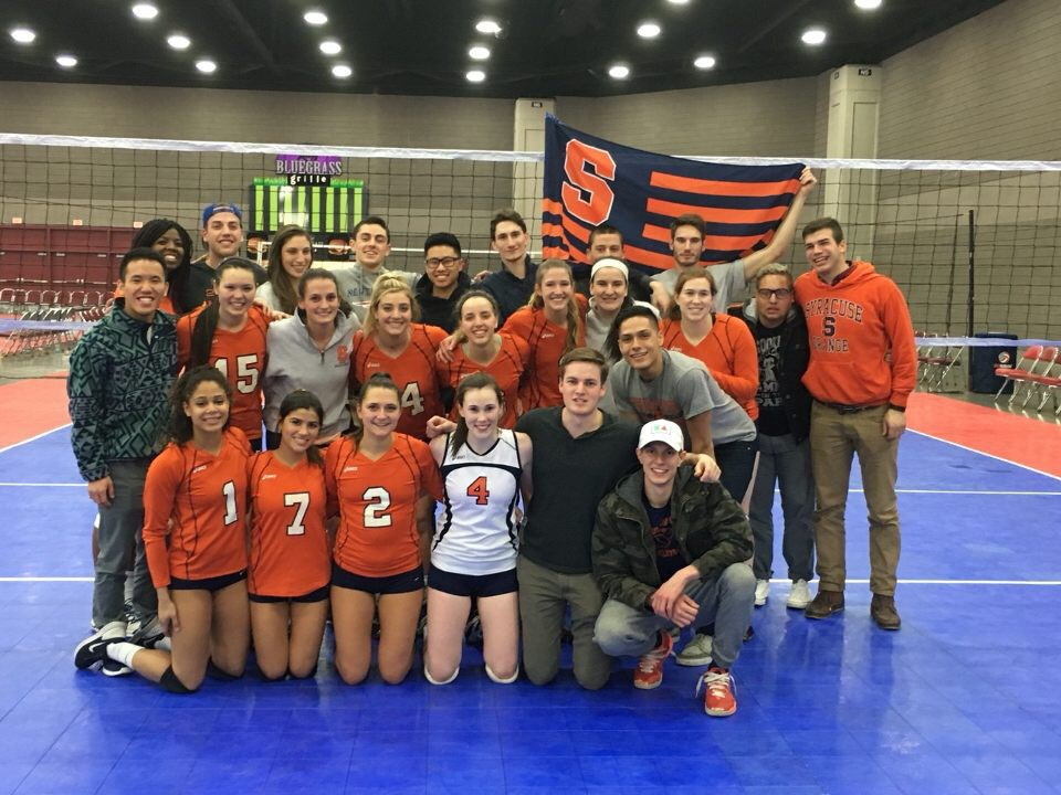 Nationals 2016 with Syracuse Men's Club Vball