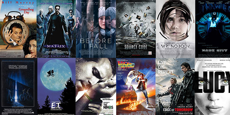 Spiritual Movie Reviews, Movies for awakening, groundhog day, the matrix, before I fall, e.t., explorers, The Nines, Source Code, Back to the Future, Edge of Tomorrow, Mr. Nobody, Star Wars