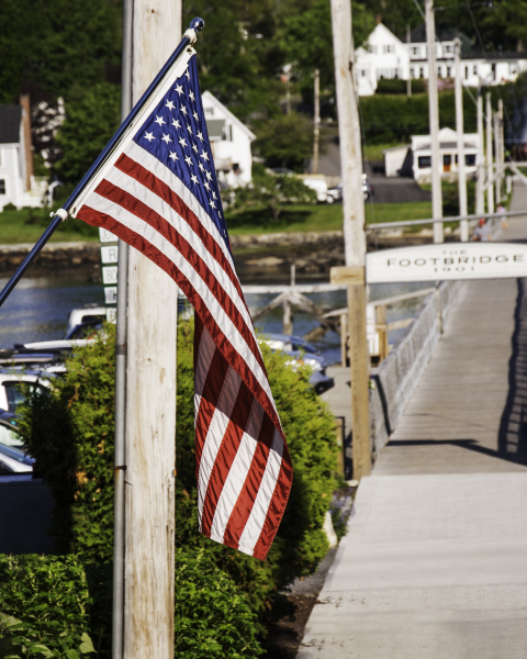 Boothbay Footbridge