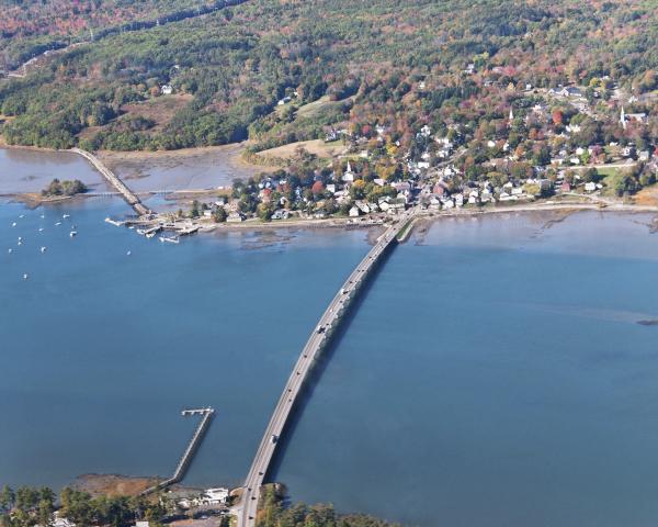 Bridging the Sheepscot River