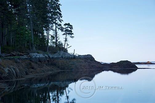 Dawn at Gunpoint Cove