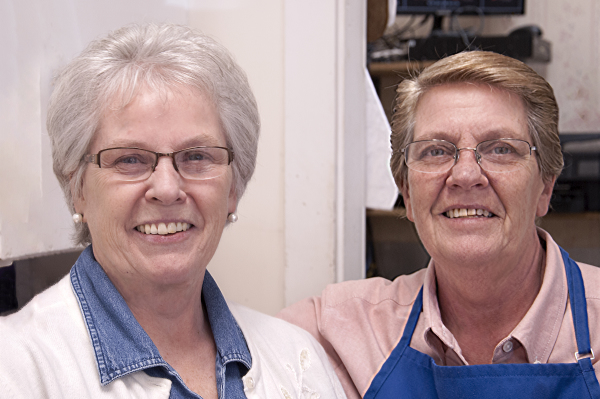 Pricelle and Dee of Bisson Farm