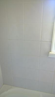 shower tiles after