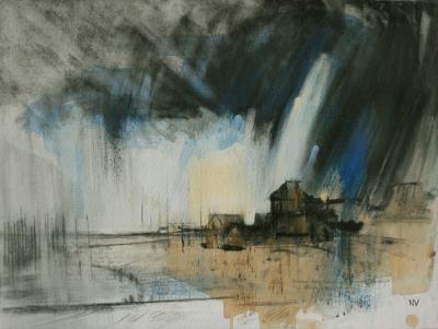 Rain Starting, The Cob Lyme Regis