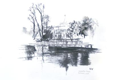 Carshalton Ponds, Autumn (cold)