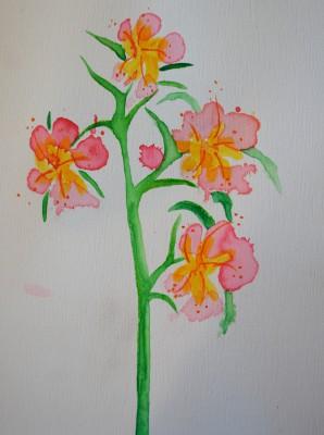 Paw Print Floral 1