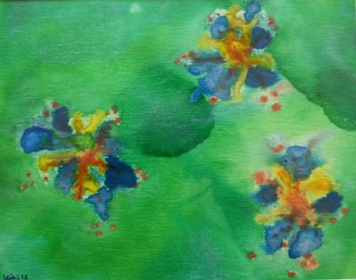 Paw Print Floral 3