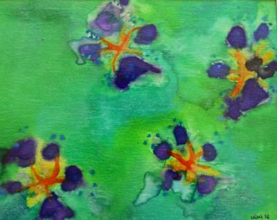 Paw Print Floral 2
