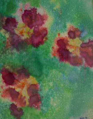 Paw Print Floral 4