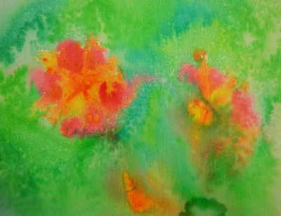 Paw Print Floral 15