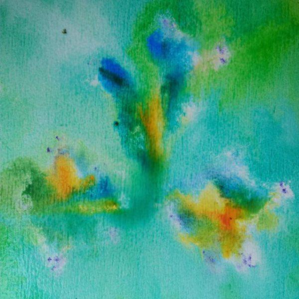 Paw Print Floral