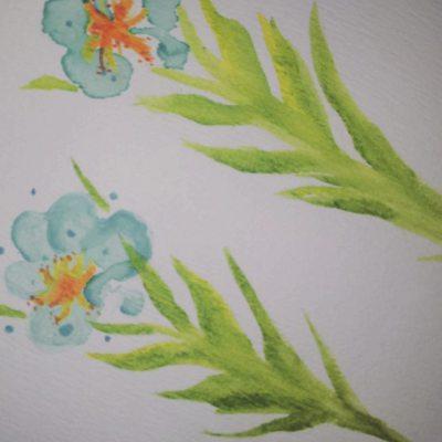 Paw Print Floral 16