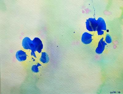 Paw Print Floral 7