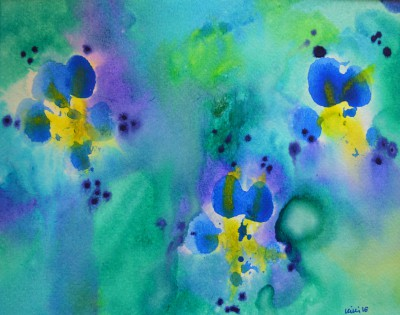 Paw Print Floral 12