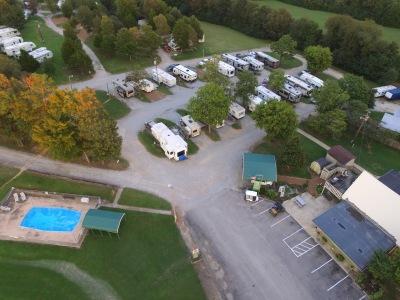 Office, Pool, & Original Park Sites