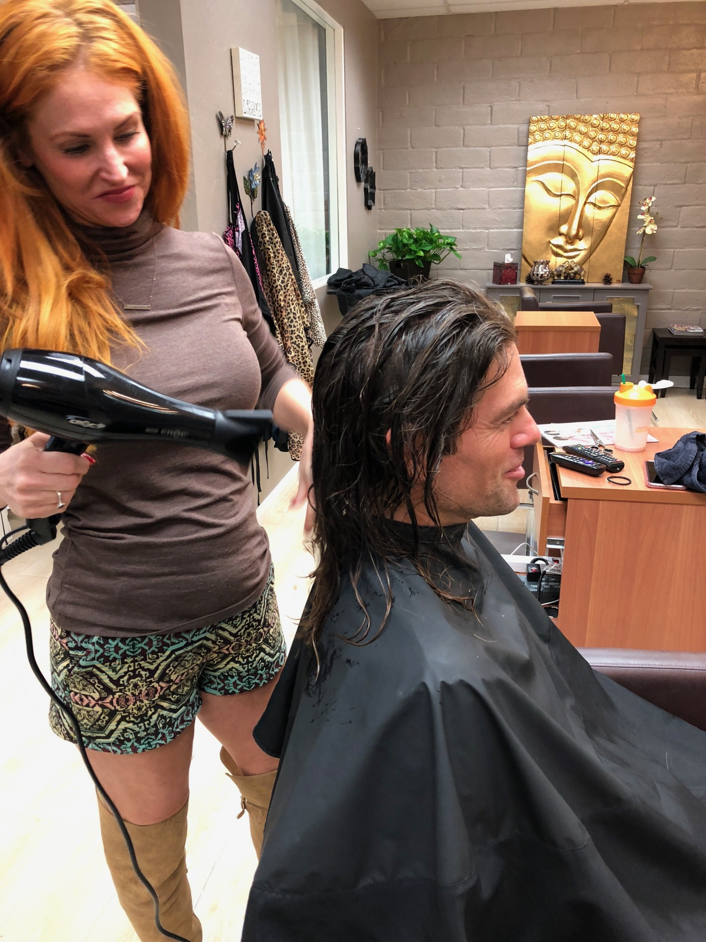 Donating Hair for a Good Cause at Salon LG!