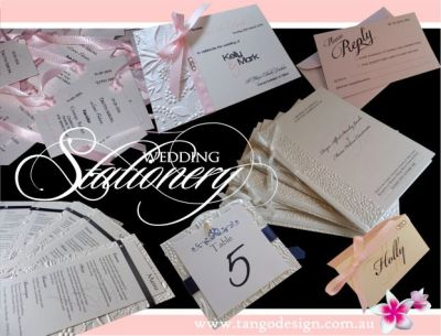 Coordinated Wedding Stationery Set