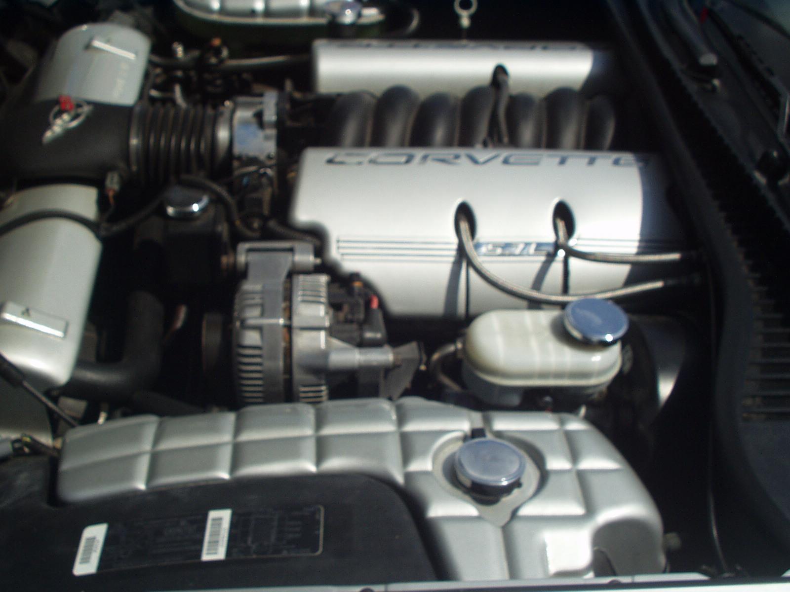 97 CORVETTE  ENGINE