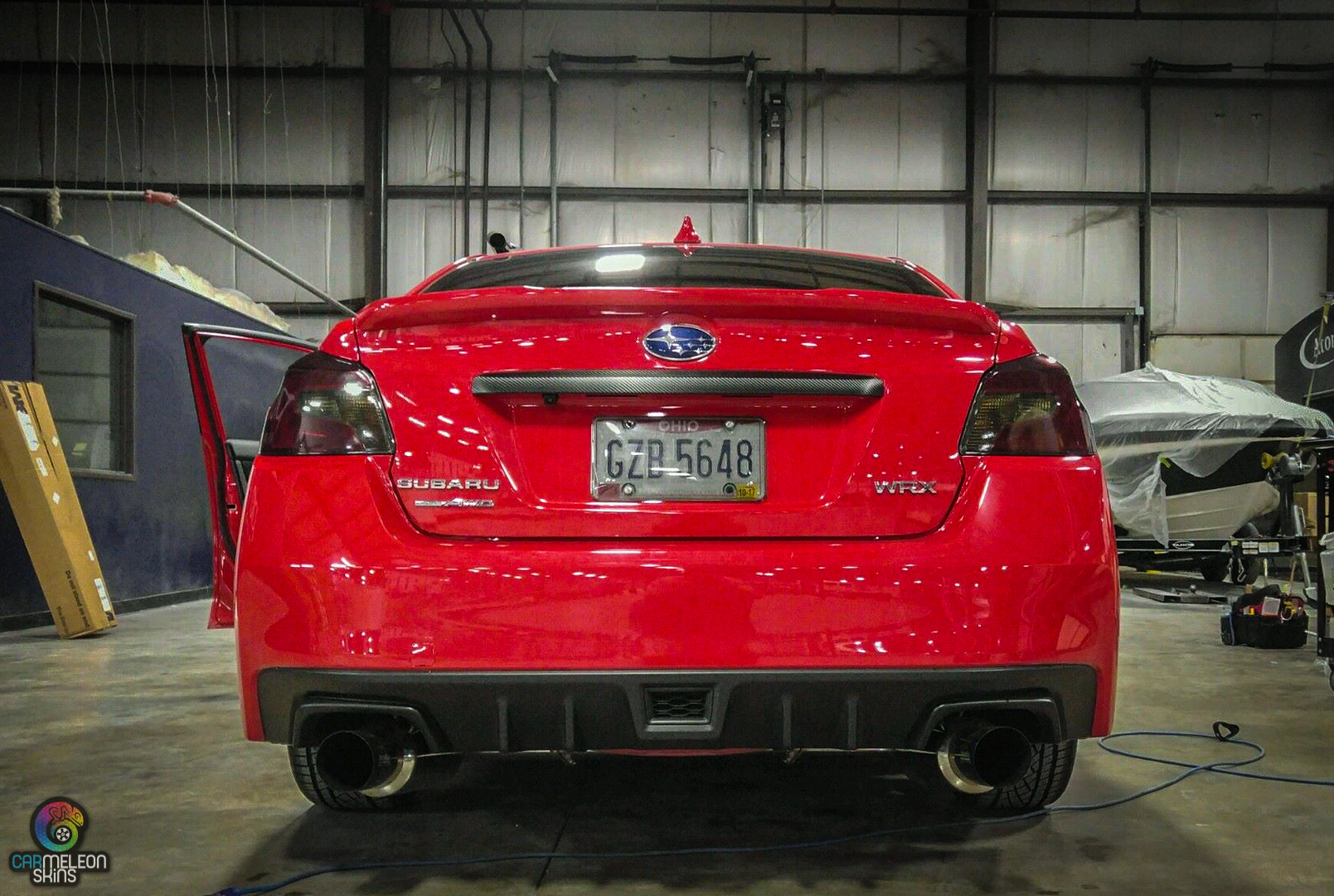 Tail light tint for this WRX