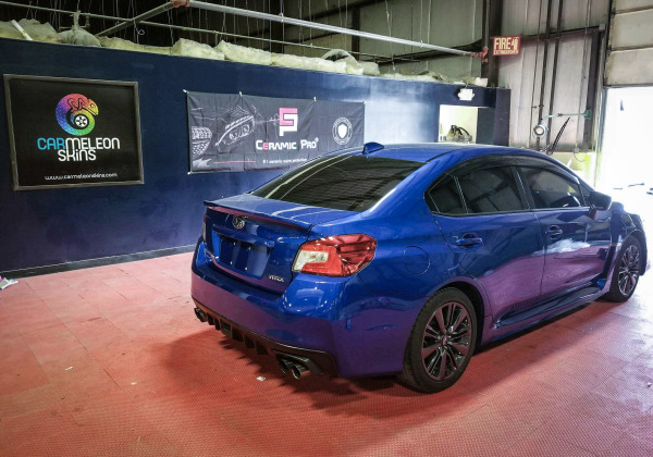 2016 Subaru WRX coated in our CP Gold package