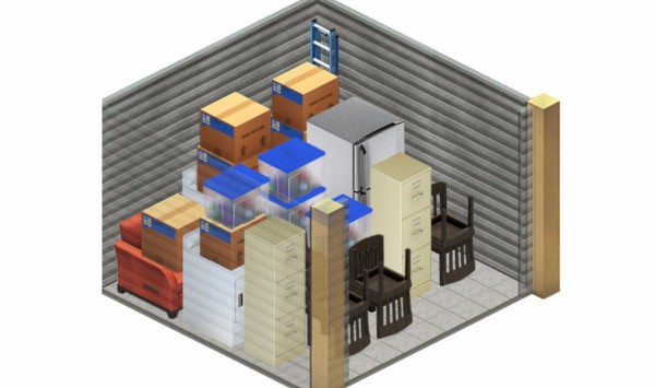 3x3 Shed at MiniMax The Storage Place