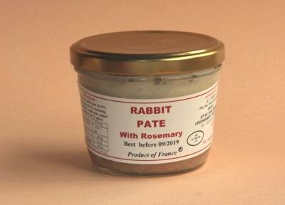 Rabbit Pâté with Rosemary