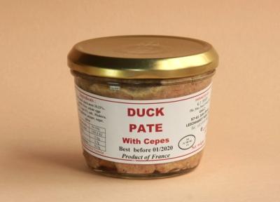 Duck Pâté with Cèpes (Porcini)