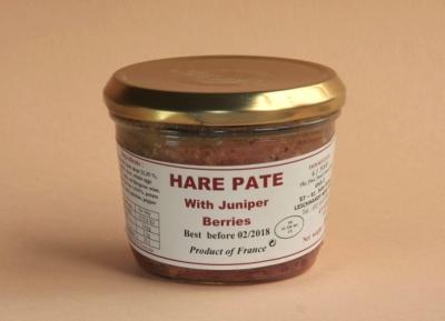 Hare Pâté with Juniper Berries