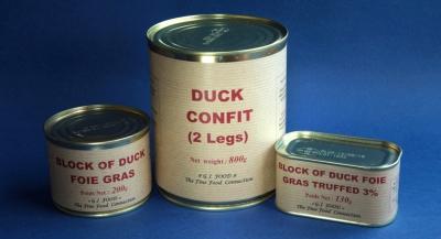 Duck confit, foie gras & cassoulet